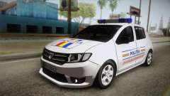 Dacia Sandero 2016 Romanian Police para GTA San Andreas