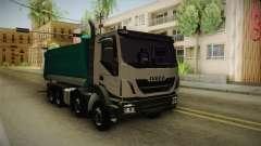 Iveco Trakker Hi-Land Dumper 8x4 v3.0 para GTA San Andreas