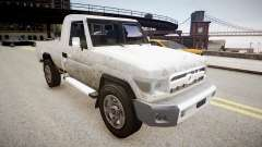 Toyota Land Cruiser Pick-Up 79 2012 v1.0 para GTA 4