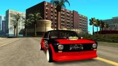 VAZ 2102 rojo para GTA San Andreas