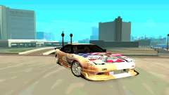Nissan SX 180 para GTA San Andreas