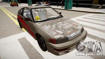 Honda CRX 1992 para GTA 4