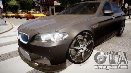 BMW M5 F10 Autovista para GTA 4