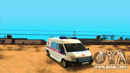 Ford Transit Ambulancia para GTA San Andreas