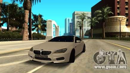 BMW M6 Gran Coupe para GTA San Andreas