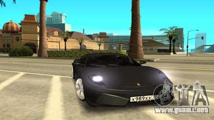 Ferrari F430 gris para GTA San Andreas