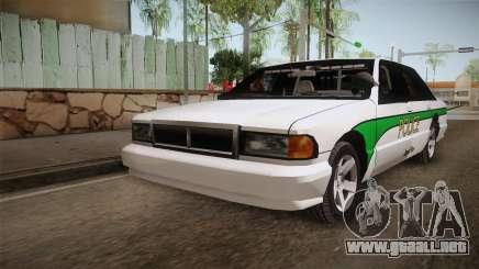 Declasse Premier 1993 Angel Pine Police para GTA San Andreas