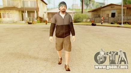 GTA 5 Michael Hoody para GTA San Andreas