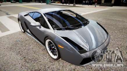 Lamborghini Gallardo Superleggera Custom 2007 para GTA 4