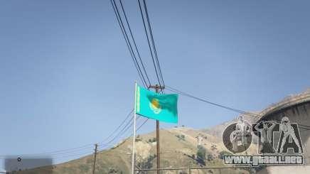 La Bandera De Kazajstán para GTA 5