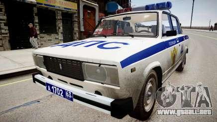 VAZ 2105 Policía para GTA 4