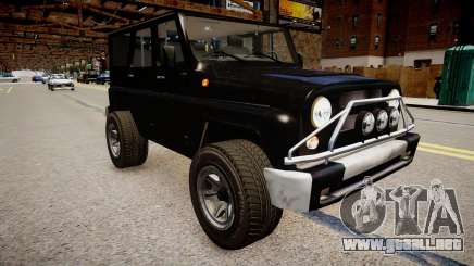 UAZ Hunter Beta para GTA 4