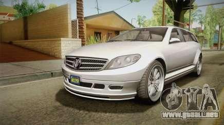 GTA 5 Benefactor Schafter Wagon para GTA San Andreas