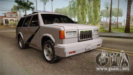 Dundreary Landstalker 1993 SA State Patrol para GTA San Andreas