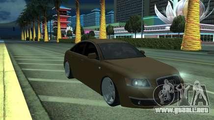 Audi A6 STANCE para GTA San Andreas