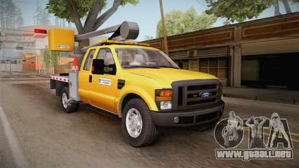 Ford F-350 2008 Cherry Picker para GTA San Andreas