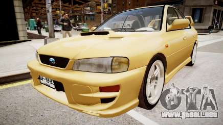 Subaru Impreza GC8 JDM Spec para GTA 4