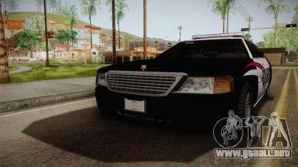 Dundreary Admiral Police 2009 para GTA San Andreas