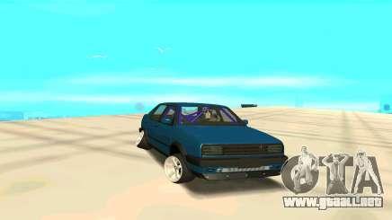 Volkswagen Jetta de color turquesa para GTA San Andreas