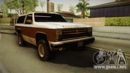 Chevrolet Blazer K5 Rancher Style para GTA San Andreas