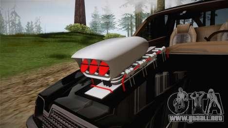 AMC Pacer Monster Truck para visión interna GTA San Andreas