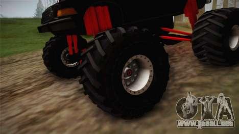 AMC Pacer Monster Truck para GTA San Andreas vista hacia atrás