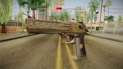 Desert Eagle 50 AE Gold para GTA San Andreas