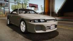 Nissan Skyline GTS25-t Mk.IX R33 Paintjob para GTA San Andreas