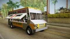 GTA 5 Brute Taco Van para GTA San Andreas