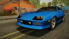 Chevrolet Camaro IROC-Z FBI 1990 para GTA San Andreas