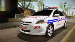 Toyota Vios Philippine Police para GTA San Andreas