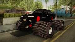 Subaru Legacy 1992 Monster Truck para GTA San Andreas