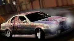 Toyota Cresta ITASHA PROJECT SHELTER RIN para GTA San Andreas