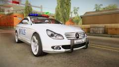 Mercedes-Benz CLS 500 Turkish Police para GTA San Andreas
