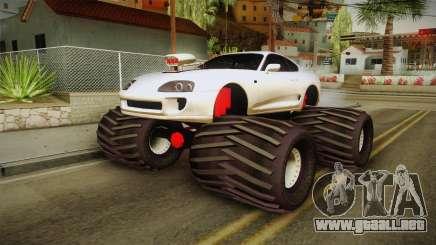 Toyota Supra Monster Truck para GTA San Andreas