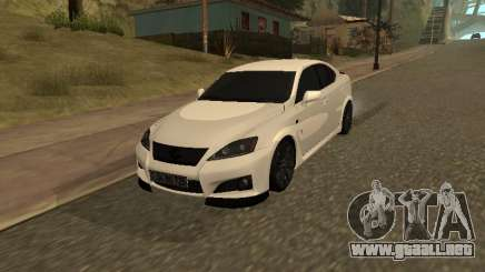 Lexus IS F Armenian para GTA San Andreas
