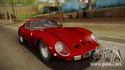 Ferrari 250 GTO (Series I) 1962 HQLM PJ1 para GTA San Andreas
