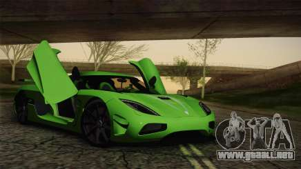 Koenigsegg Agera Color Interior para GTA San Andreas