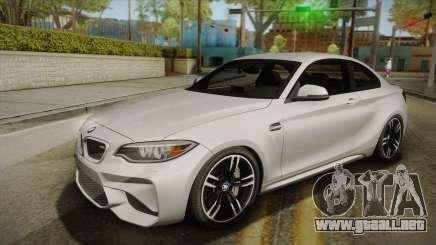 BMW M2 2017 para GTA San Andreas