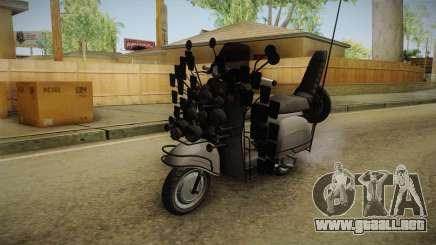 GTA 5 Pegassi Faggio Extreme Tuning v1 para GTA San Andreas