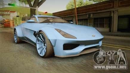 GTA 5 Dewbauchee Specter Custom para GTA San Andreas