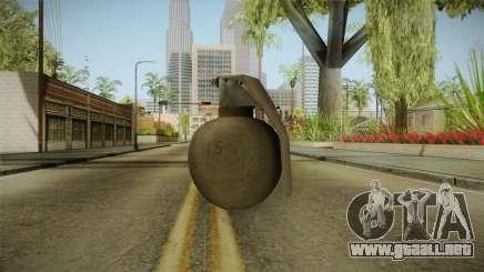 Battlefield 4 - M67 para GTA San Andreas