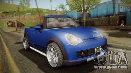 GTA 5 Weeny Issi Countryboy Cabriolet para GTA San Andreas