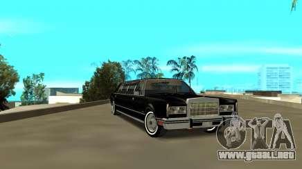 Lincoln 1988 para GTA San Andreas