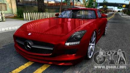 Mercedes Benz SLS AMG 6.3 2011 para GTA San Andreas