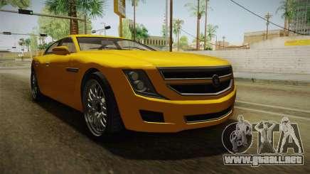 GTA 5 Albany Alpha Sedan para GTA San Andreas