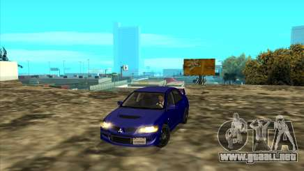 Mitsubishi Lancer GSR Evolution VIII IVF Tunable para GTA San Andreas