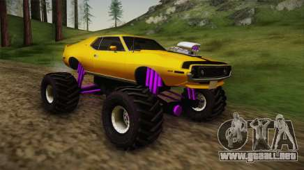 AMC Javelin AMX 401 1971 Monster Truck para GTA San Andreas
