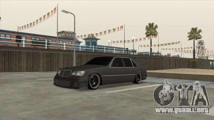 Brabus 7.3s para GTA San Andreas