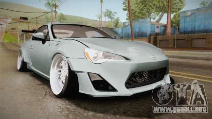 Scion FR-S RocketBunny 2013 para GTA San Andreas